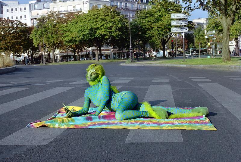 Dinosaurus - Photographer Anne-Sophie Guillet - Model - Diane Sagnier